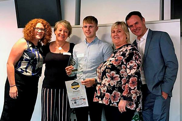 SPI employee wins Apprentice of the year award